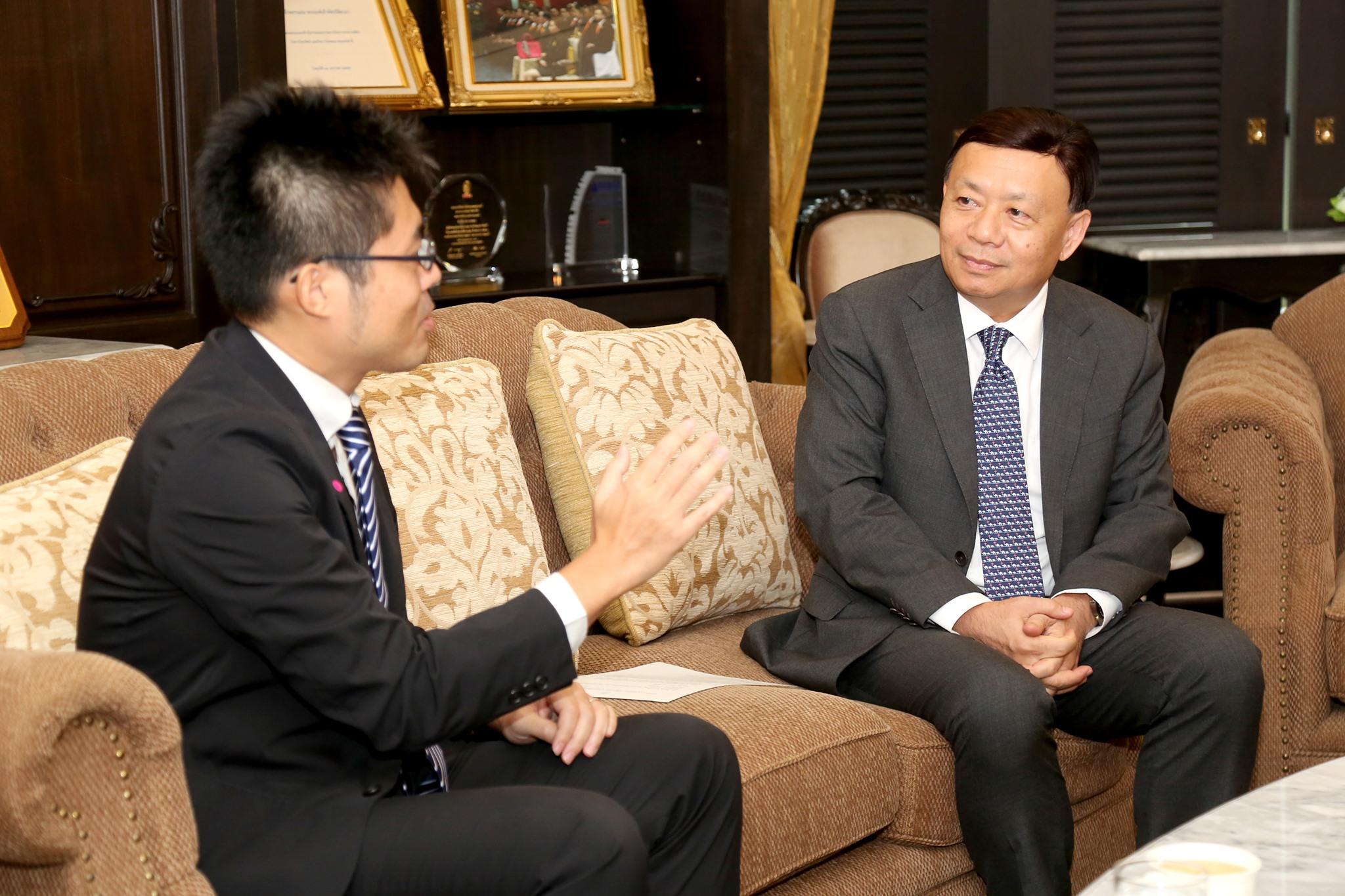 เลขาธิการ กสทช. ให้การต้อนรับMr. Yasunari Ueno ผู้แทน Ministry of Internal Affairs and Communications (MIC)