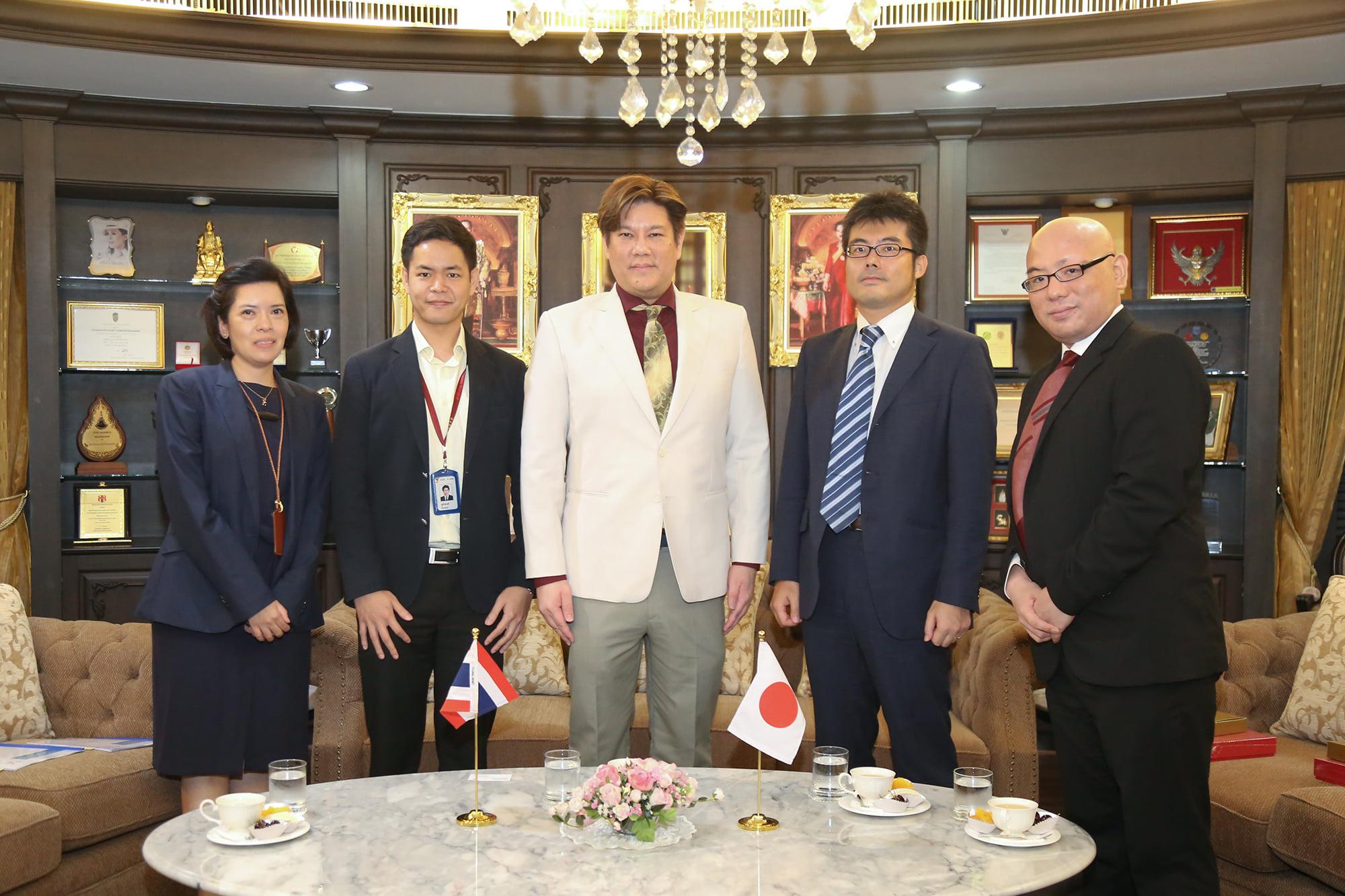 สำนักงาน กสทช. ให้การต้อนรับเลขานุการเอกจากสถานเอกอัครราชทูตญี่ปุ่นประจำประเทศไทย